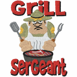 Grill Sargent Barbeque Fun Embroidered Hoody