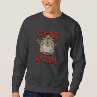 Grill Sargent Barbeque Fun Embroidered Sweatshirt