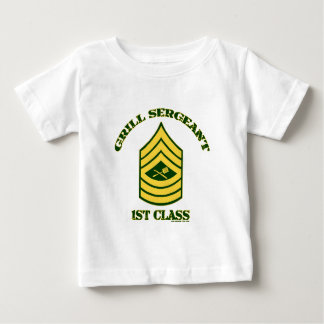 GRILL SERGEANT-1ST CLASS.png Baby T-Shirt