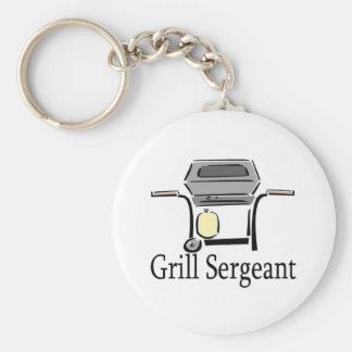 Grill Sergeant Aprons and Gifts. Keychain
