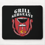Grill Sergeant Barbecue Summer July 4th Mouse Pad