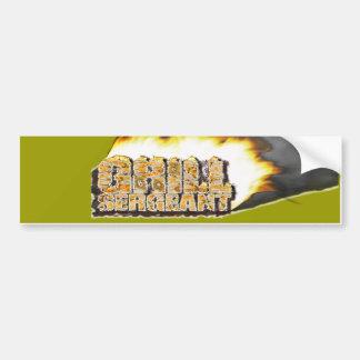 GRILL SERGEANT! BUMPER STICKERS