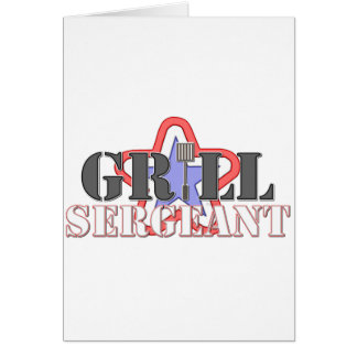 Grill Sergeant Card