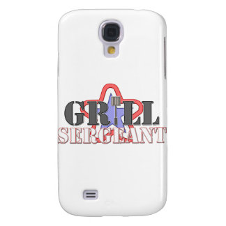 Grill Sergeant Galaxy S4 Cases