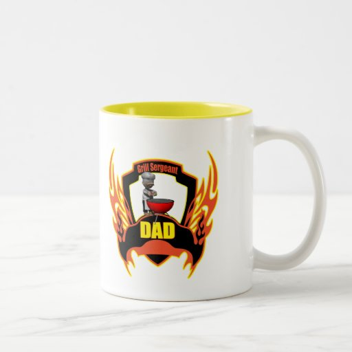 Grill Sergeant Dad Fathers Day Gifts Coffee Mug