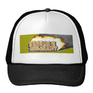GRILL SERGEANT! Father's Day! Trucker Hat