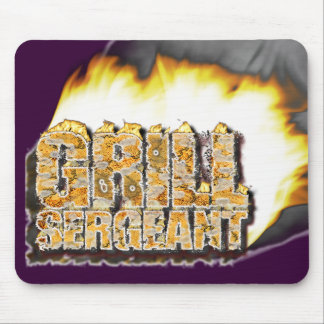 GRILL SERGEANT! Father's Day! Mouse Pad