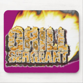 GRILL SERGEANT! MOUSE PAD