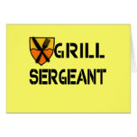 Grill Sergeant Products Greeting Card