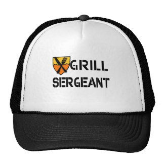 Grill Sergeant Products Trucker Hat