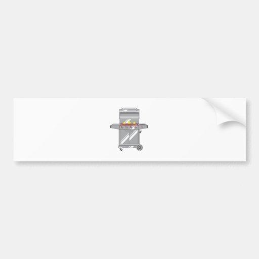 Grill Super Bumper Stickers