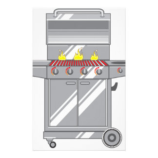 Grill Super Stationery