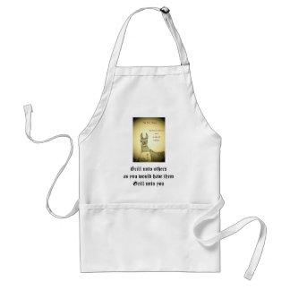 Grill unto others... adult apron