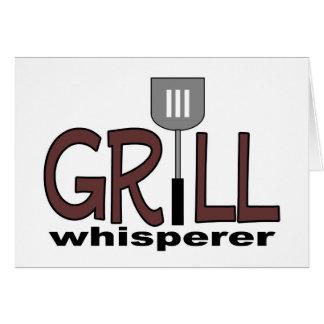 Grill Whisperer Greeting Card