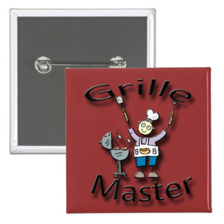 Grille Master black Buttons