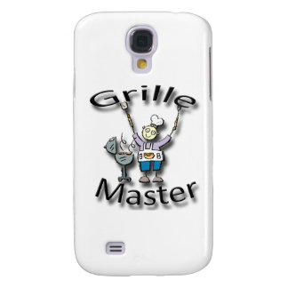 Grille Master black Galaxy S4 Cover