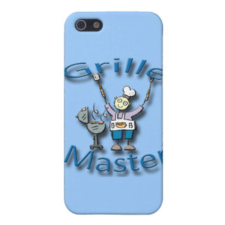 Grille Master blue Cases For iPhone 5