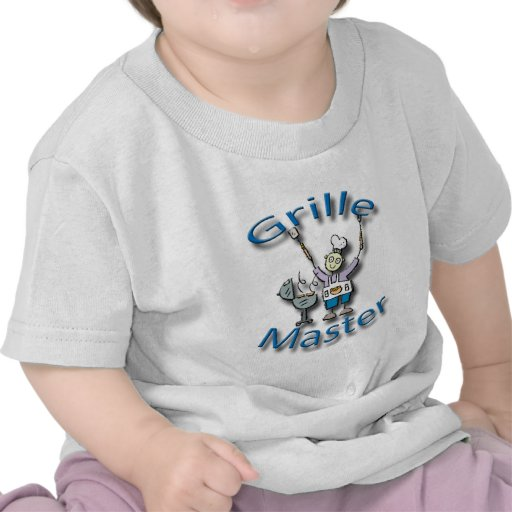 Grille Master blue Tee Shirts