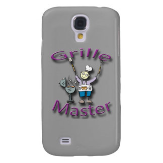 Grille Master violet Galaxy S4 Cases