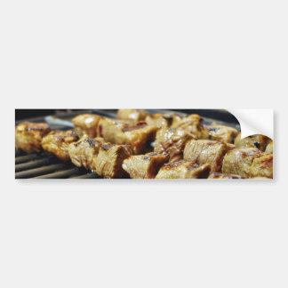 Grilled Beef Kabobs Food Bumper Stickers
