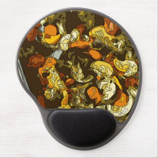 Grilled Carrots Zucchini and Mushroom Dish Gel Mouse Pad