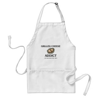 Grilled Cheese Addict Adult Apron