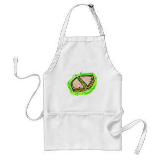 Grilled Cheese Adult Apron