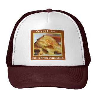Grilled Cheese Holiday Cap Trucker Hat