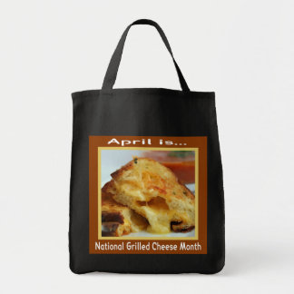 Grilled Cheese Holiday Tote Bag