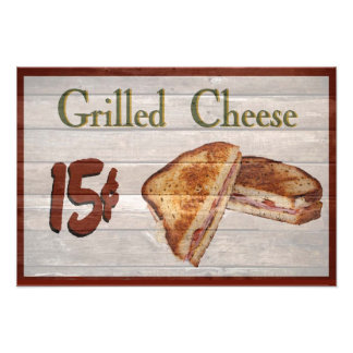 Grilled Cheese Photo Print