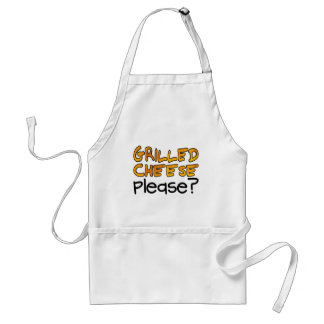 Grilled Cheese Please? Adult Apron