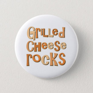 Grilled Cheese Rocks Pinback Button