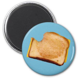 Grilled Cheese Sandwich 2 Inch Round Magnet