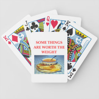 grilled cheese sandwich bicycle playing cards