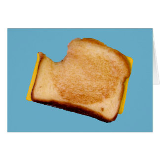 Grilled Cheese Sandwich Card