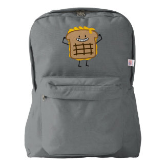 Grilled Cheese Sandwich Cheddar Toasted Bread American Apparel™ Backpack