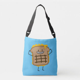 Grilled Cheese Sandwich Cheddar Toasted Bread Crossbody Bag