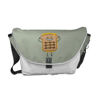 Grilled Cheese Sandwich Cheddar Toasted Bread Messenger Bag