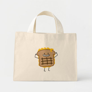 Grilled Cheese Sandwich Cheddar Toasted Bread Mini Tote Bag