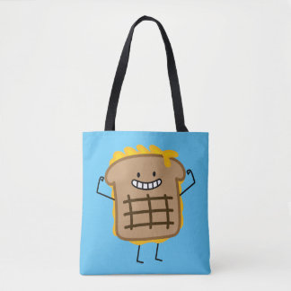 Grilled Cheese Sandwich Cheddar Toasted Bread Tote Bag