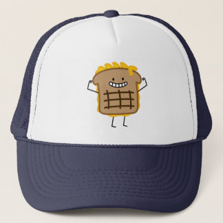 Grilled Cheese Sandwich Cheddar Toasted Bread Trucker Hat