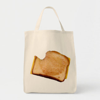 Grilled Cheese Sandwich Grocery Tote Bag