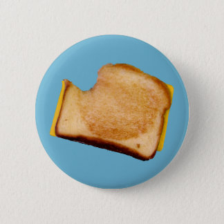 Grilled Cheese Sandwich Pinback Button