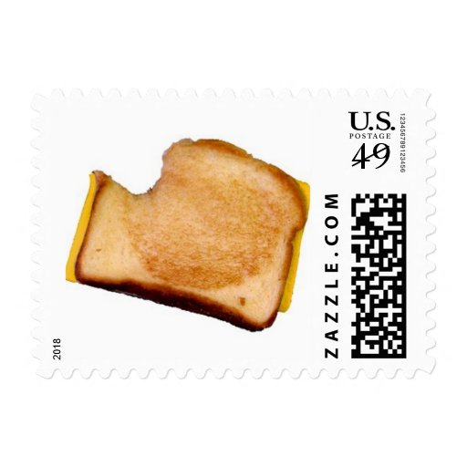 Grilled Cheese Sandwich Postage Stamps