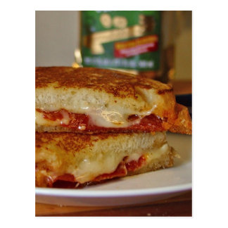 Grilled Cheese Sandwiches Postcard