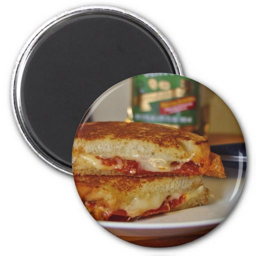 Grilled Cheese Sandwiches Refrigerator Magnets