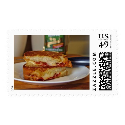 Grilled Cheese Sandwiches Stamps