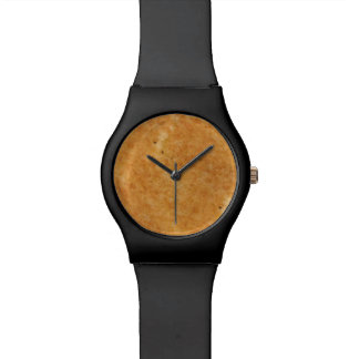 Grilled cheese toast side perfection in cooking wristwatch