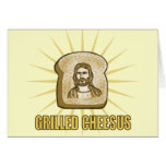 Grilled Cheesus notecards Cards