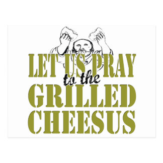 Grilled Cheesus Postcard